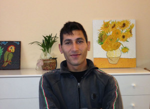 Kolyo Marinov, 25 years old.