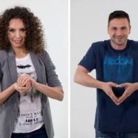 """Нели Атанасова и Александър Сано в подкрепа на Операция """"Жълти стотинки"""" и ФСПВ"""