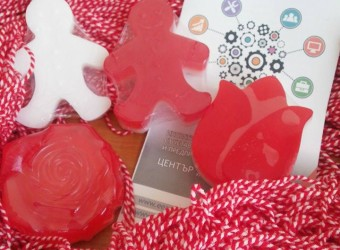 """The young people at Social Centre """"Opportunity"""" produced special soaps for """"Baba Marta"""""""
