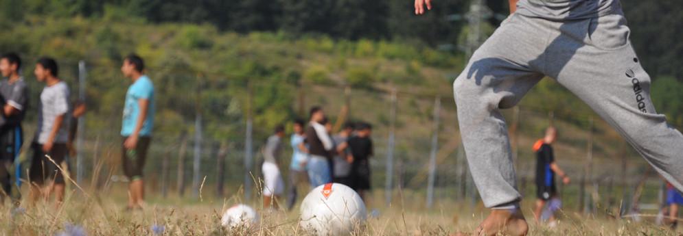 Футболно лято в Поправителния дом