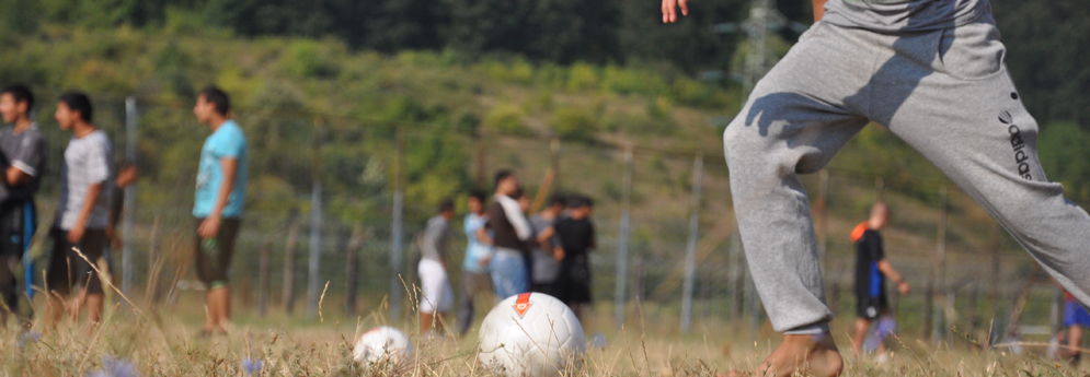 Football camp in Boychinovtsi