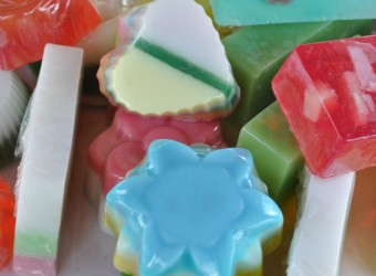 """Young people from """"SOS Children's Villages"""" were trained in soap production"""