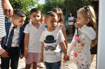The Svetogled centre welcomes with smiles